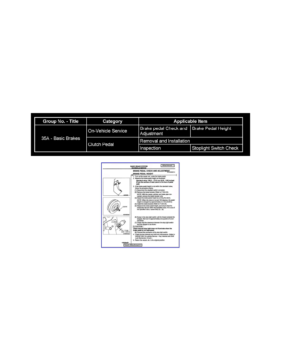 Mitsubishi Workshop Manuals > Eclipse Spyder GT V6-3.0L