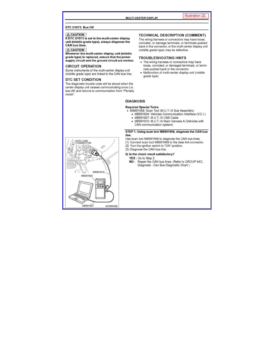 Mitsubishi Workshop Manuals > Galant V6-3.8L (6G75) (2005