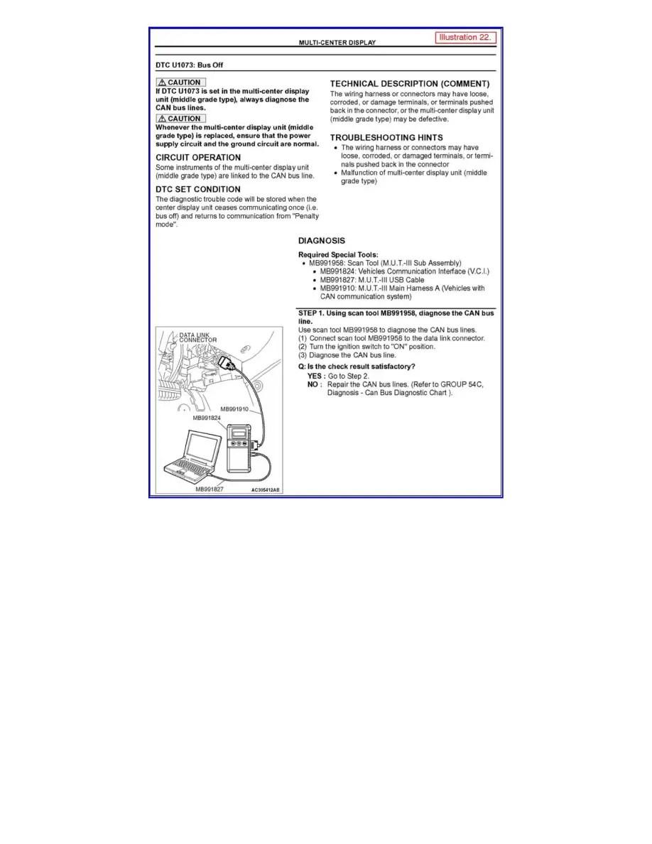 Mitsubishi Workshop Manuals > Galant V6-3.8L (6G75) (2005
