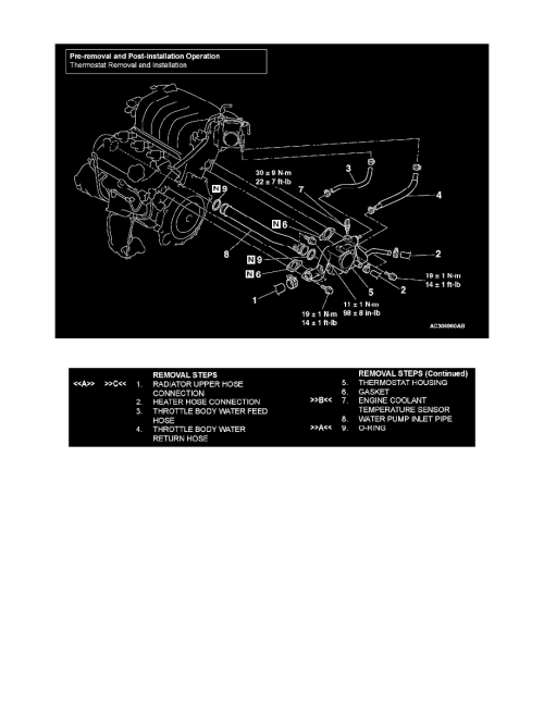small resolution of engine cooling and exhaust cooling system coolant line hose component information diagrams