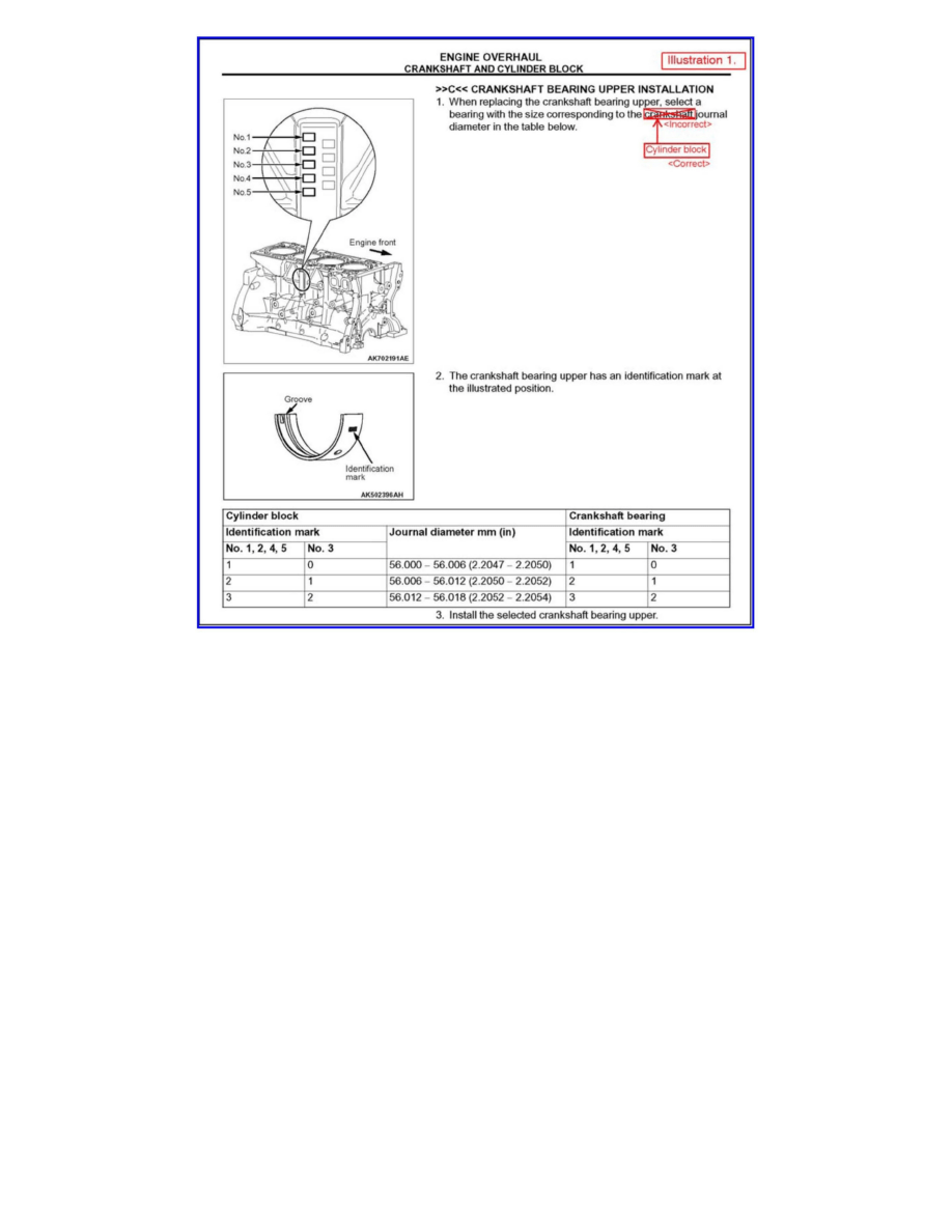 Mitsubishi Workshop Manuals > Lancer L4-2.0L (4B11) (2008