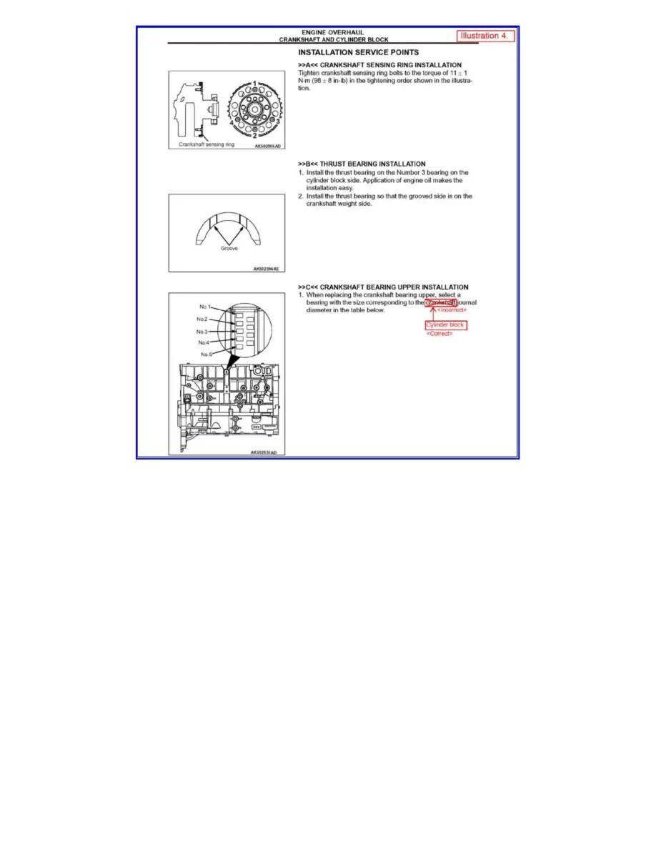 Mitsubishi Workshop Manuals > Lancer L4-2.0L (4B11) (2008