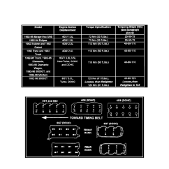 Mitsubishi 2 4l Engine Diagram Electrical Ladder Software Wiring Library Cooling And Exhaust Cylinder Head Assembly Bolts