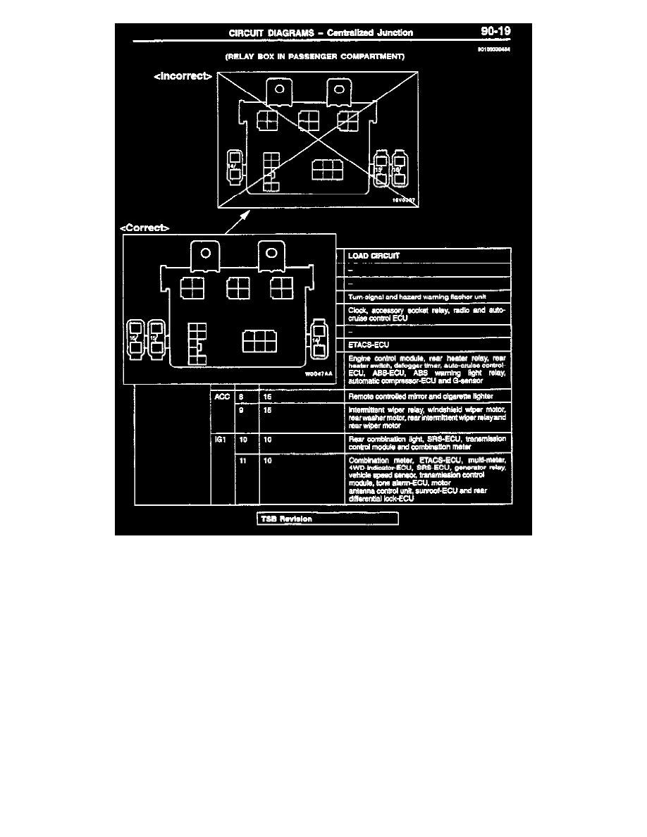 Mitsubishi Charging System Diagram