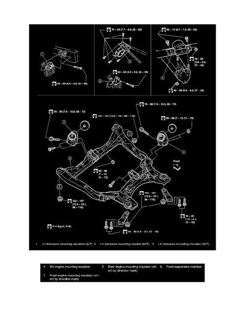 small resolution of engine cooling and exhaust engine drive belts mounts brackets and accessories engine mount component information diagrams