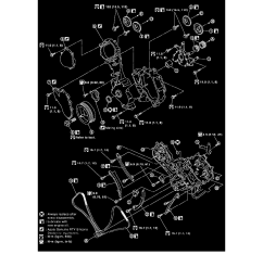 engine cooling and exhaust engine timing components timing chain tensioner component information specifications [ 918 x 1188 Pixel ]
