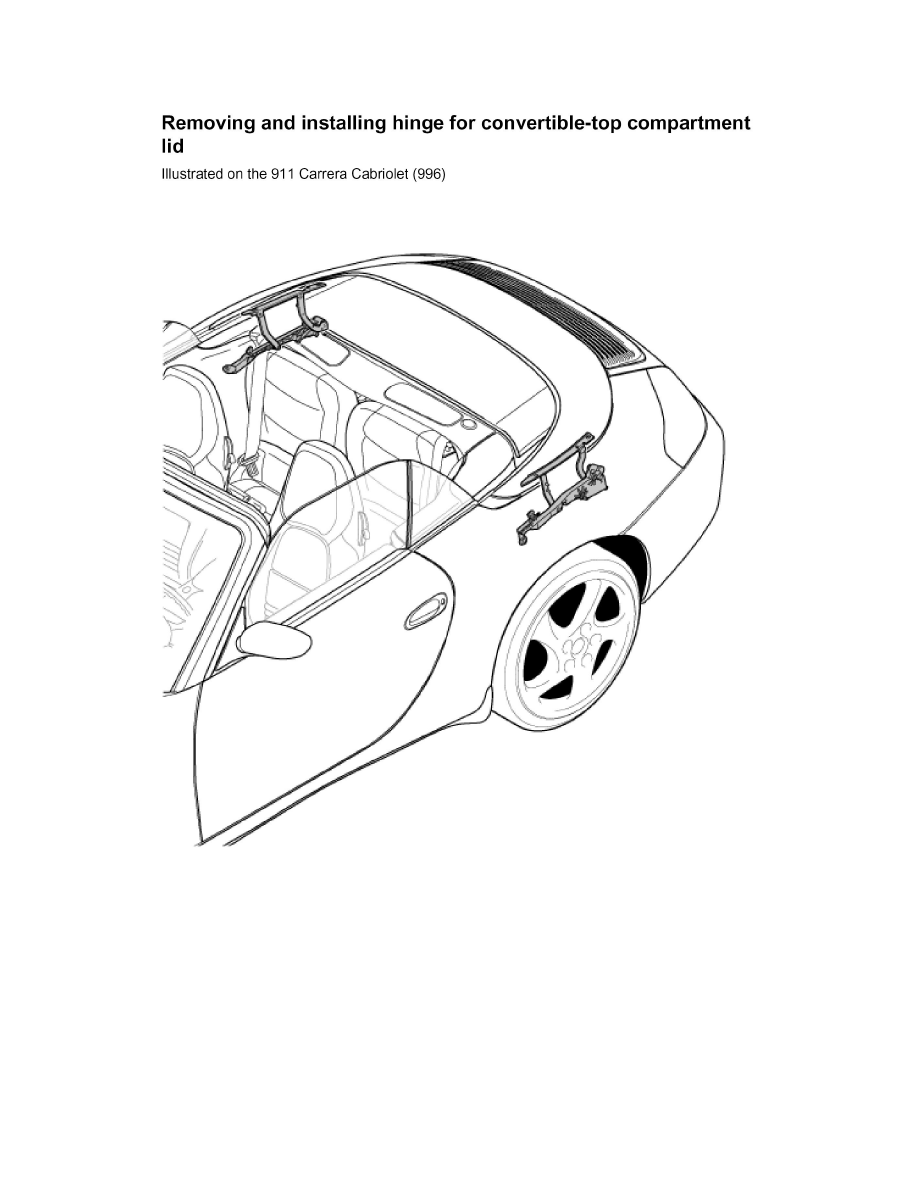 Porsche Workshop Manuals > 911 Carrera 4 (996) F6-3.6L