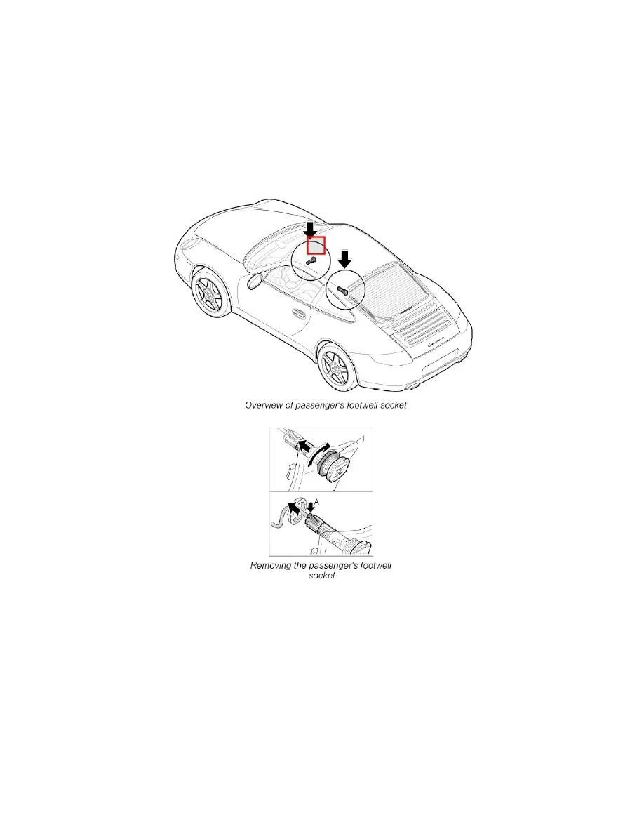 Porsche Workshop Manuals > 911 Carrera 4 (997) F6-3.6L