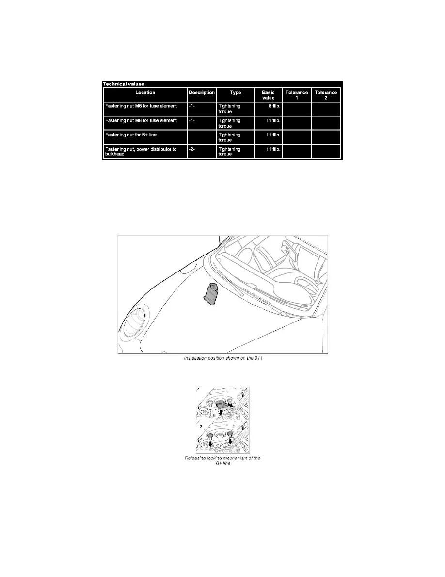 Porsche Workshop Manuals > 911 Carrera 4S (997) F6-3.8L
