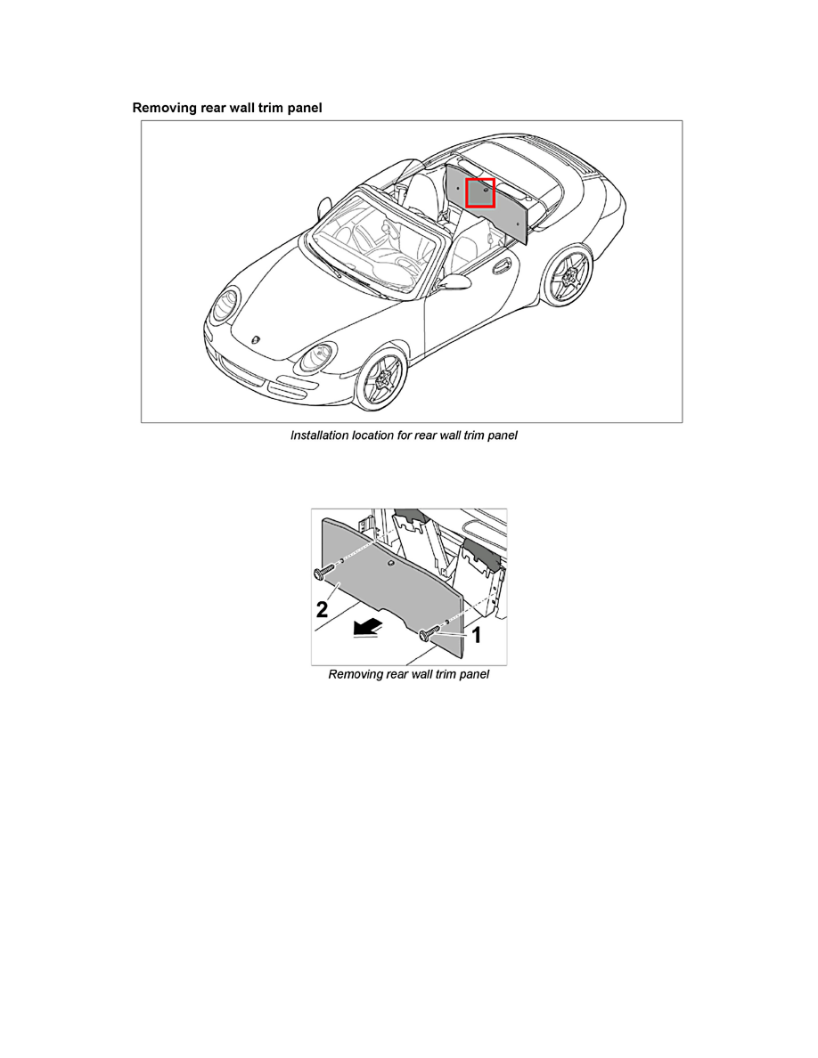 Porsche Workshop Manuals > 911 Carrera 4S Cabriolet (997