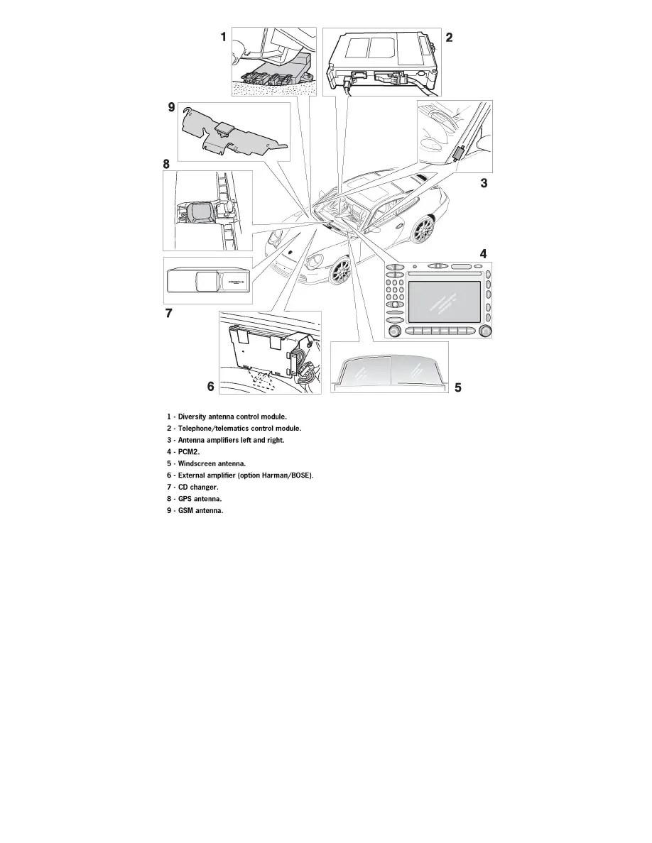 Porsche Workshop Manuals > 911 Carrera Cabriolet (996) F6