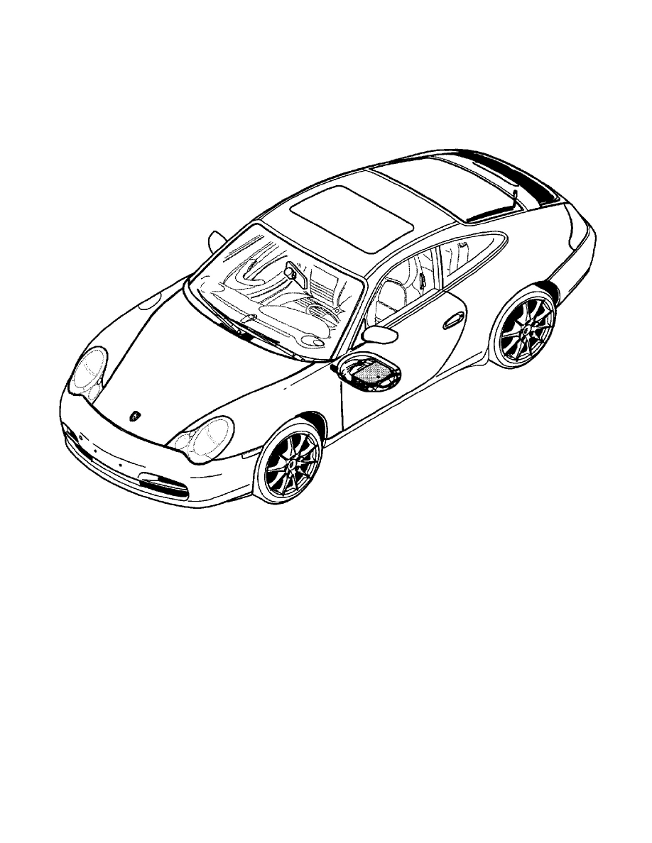 Porsche Workshop Manuals > 911 Carrera Coupe (996) F6-3.6L