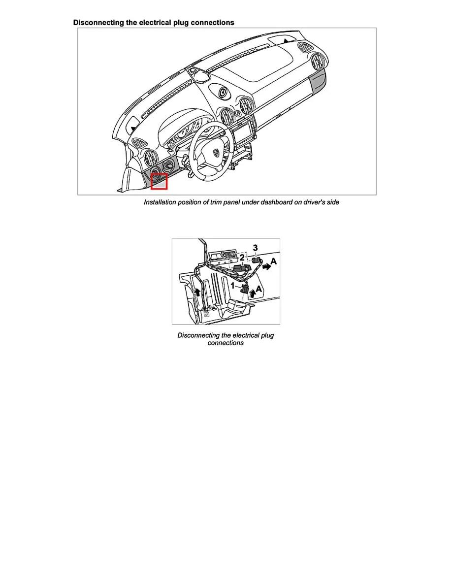 Porsche Workshop Manuals > 911 Carrera S (997) F6-3.8L