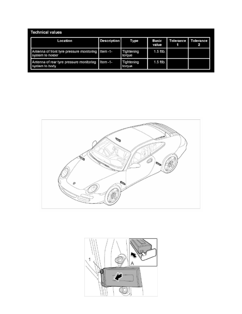 small resolution of accessories and optional equipment antenna tire pressure monitor antenna component information service and repair