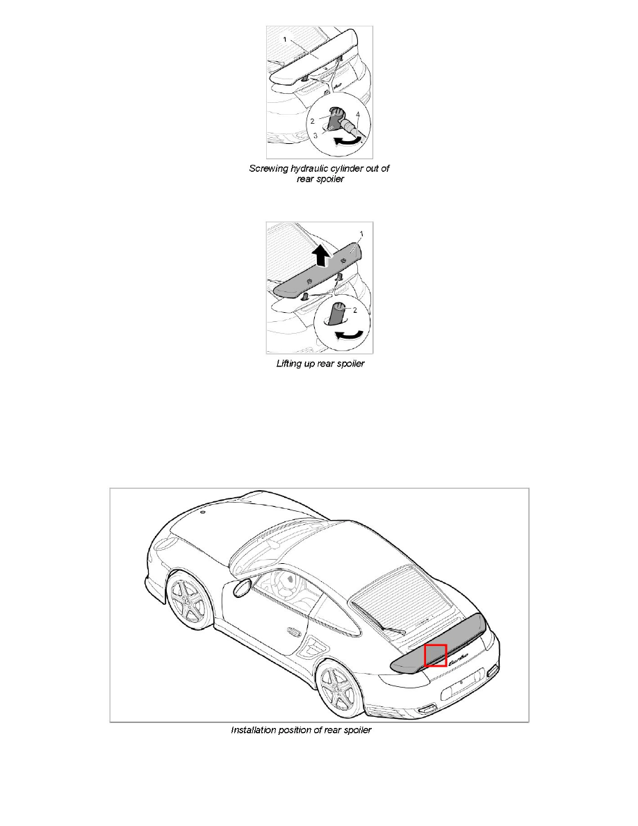 Porsche Workshop Manuals > 911 Turbo Cabriolet AWD (997