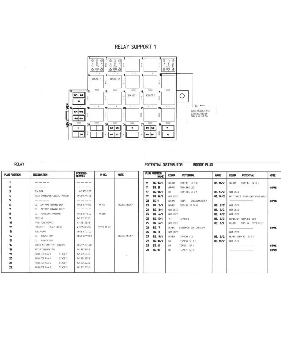 Porsche Workshop Manuals Gt Boxster 986 F6 27L 2000