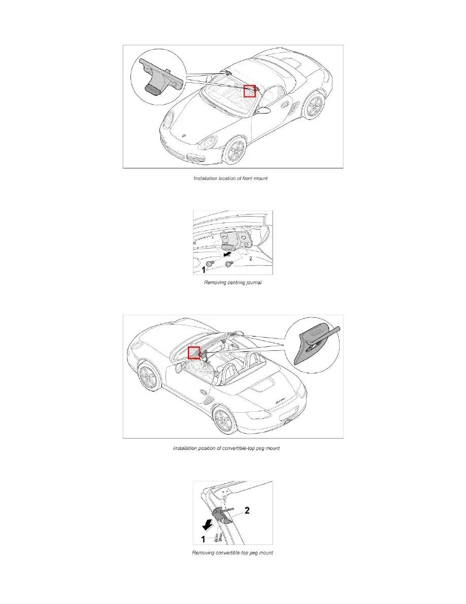 Porsche Workshop Manuals > Boxster (987) F6-2.7L (2006