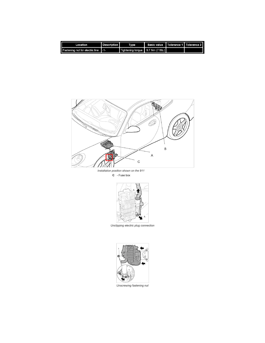 Porsche Workshop Manuals > Boxster (987) F6-2.7L (2006