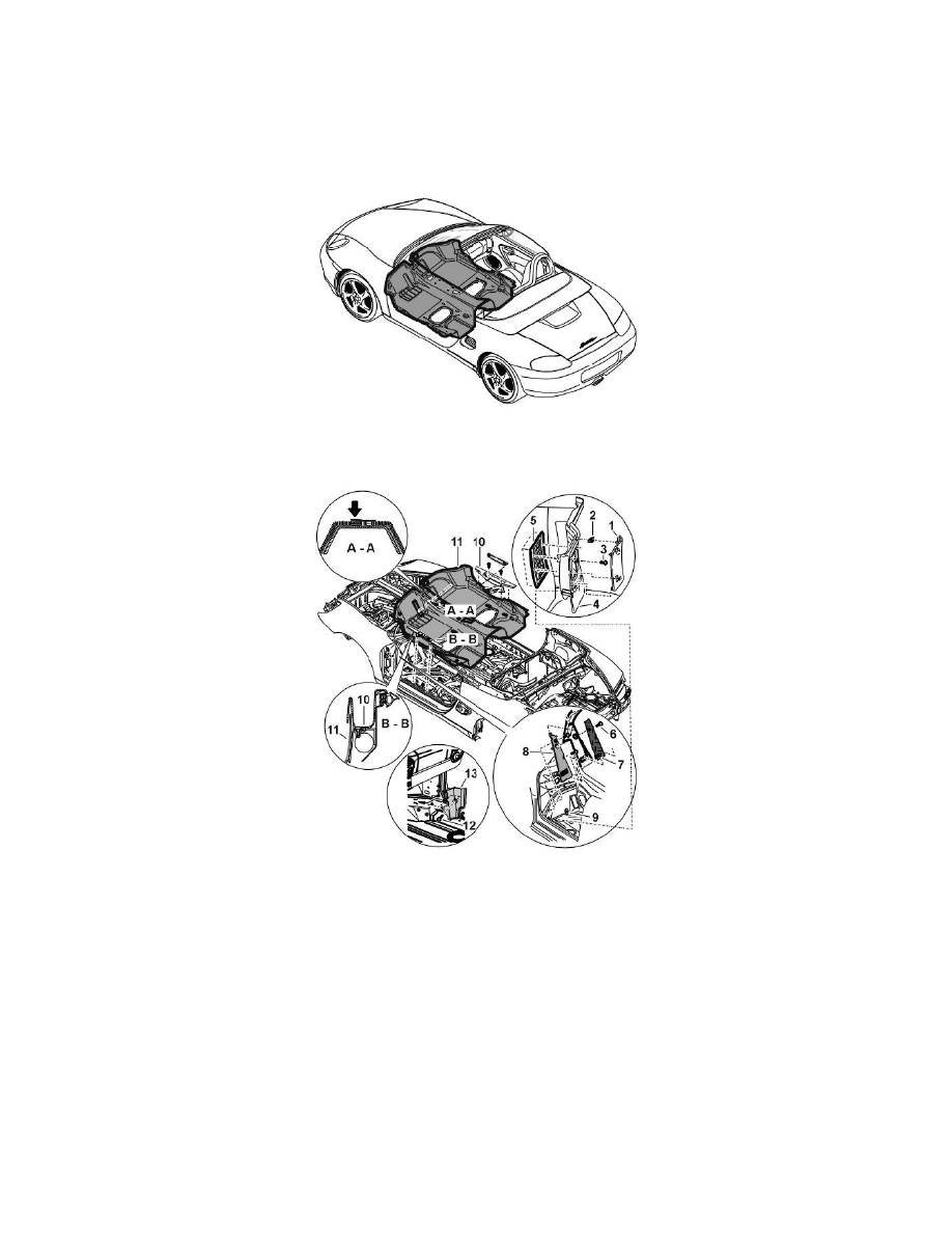 Porsche Workshop Manuals > Boxster S (986) F6-3.2L (2001