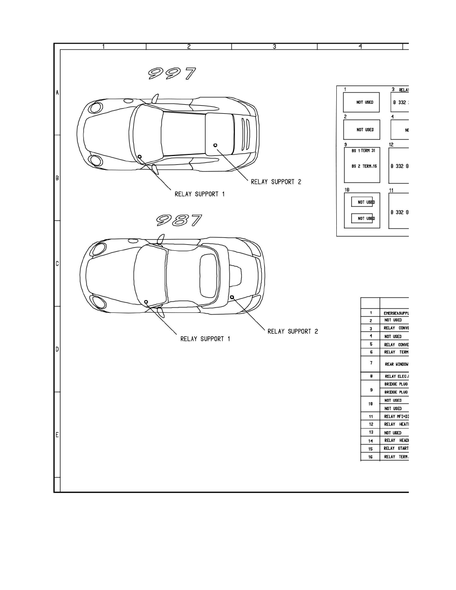 porsche cayman s fuse box diagram