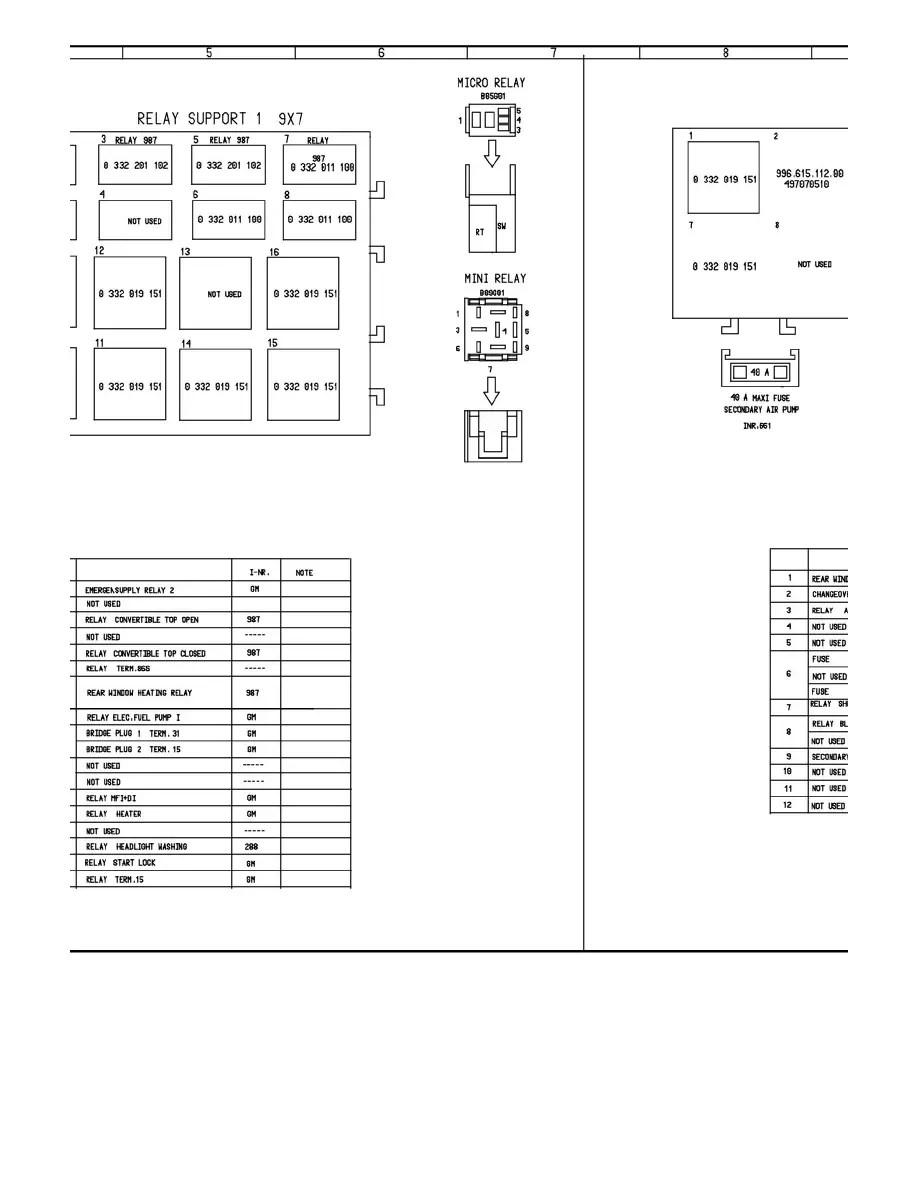 medium resolution of porsche 987 boxster wiring diagrams porsche boxster porsche 987 radio wiring diagram 987 boxster gray