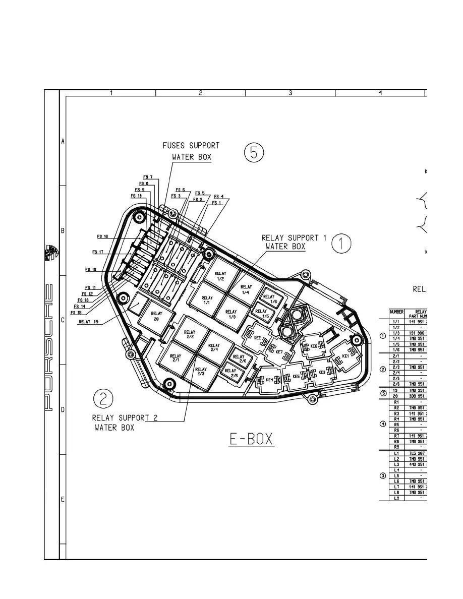 2005 porsche cayenne fuse box diagram