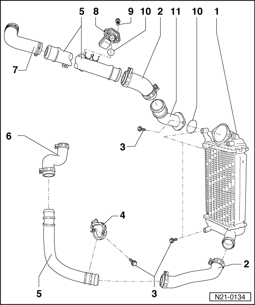 SEAT Workshop Manuals > Leon Mk1 > Power unit > 3-cyl