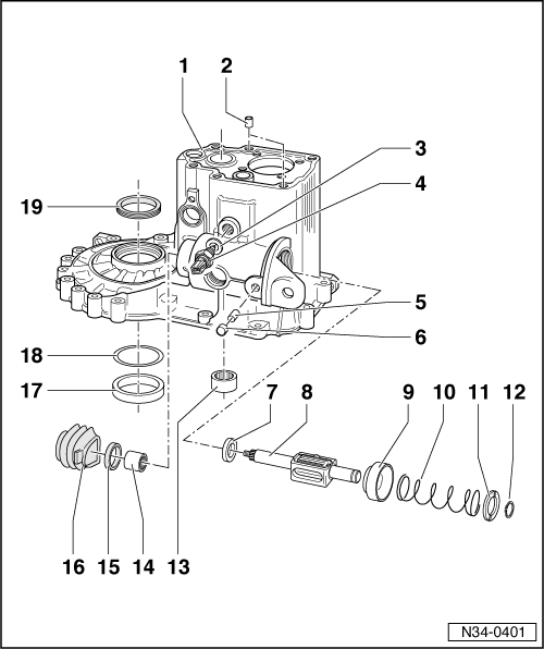 SEAT Workshop Manuals > Leon Mk1 > Manual gearbox 020 5