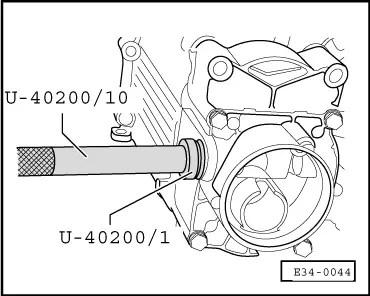 SEAT Workshop Manuals > Leon Mk1 > Manual gearbox 020 5
