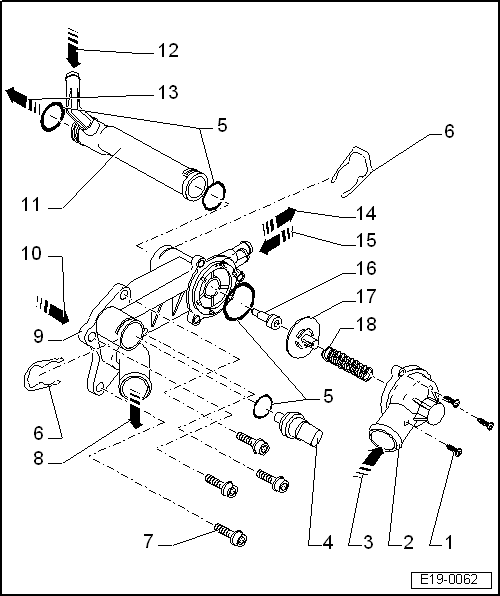 SEAT Workshop Manuals > Leon Mk1 > Power unit > 3 cylinder