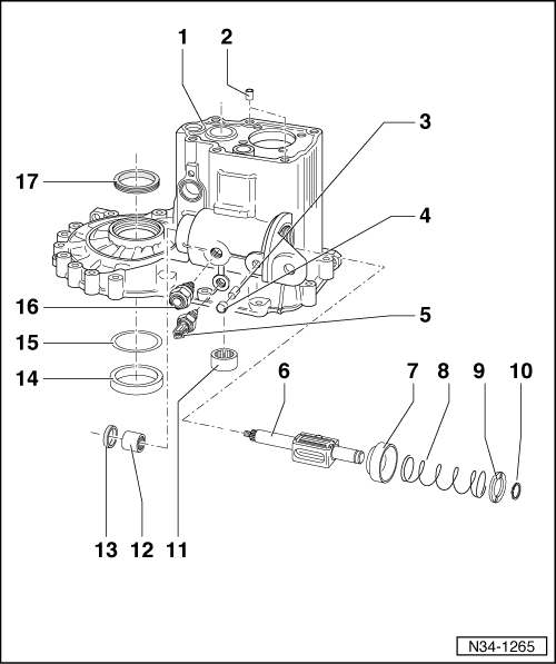 SEAT Workshop Manuals > Leon Mk1 > 02K gearbox manual 5