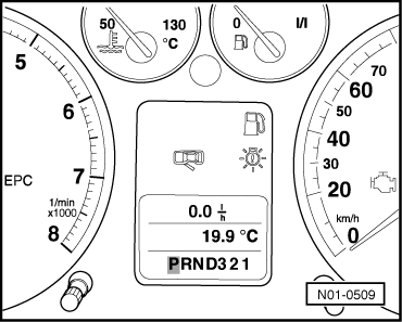 SEAT Workshop Manuals > Leon Mk1 > 5-speed automatic