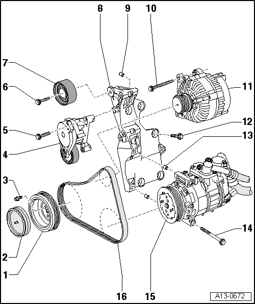 SEAT Workshop Manuals > Leon Mk1 > Power unit > 4 cylinder