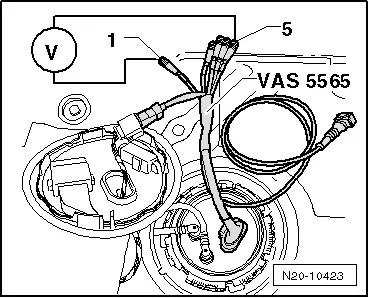 SEAT Workshop Manuals > Leon Mk1 > Power unit > Fuel