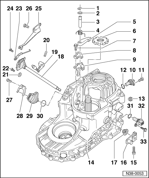 SEAT Workshop Manuals > Leon Mk1 > Automatic gearbox