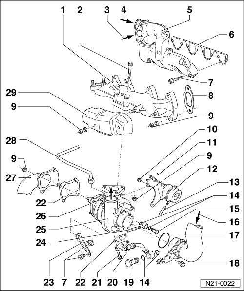 SEAT Workshop Manuals > Leon Mk1 > Engine, mechanics > 4