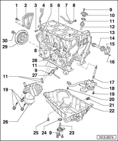 SEAT Workshop Manuals > Leon Mk1 > Engine, mechanics > 5
