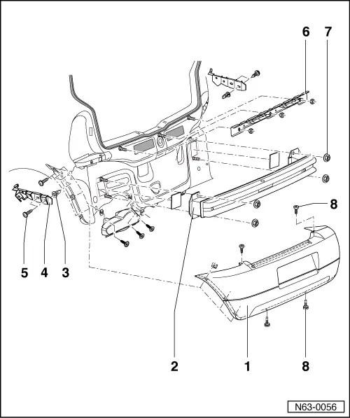 SEAT Workshop Manuals > Leon Mk1 > Bodywork > Bodywork