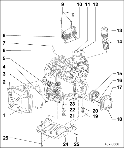 SEAT Workshop Manuals > Leon Mk1 > Semi-automatic gearbox