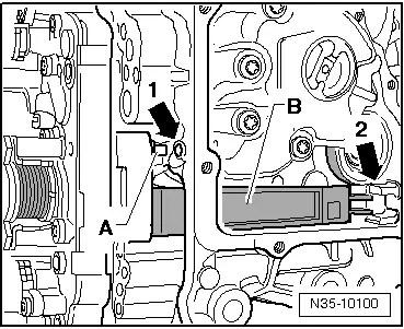 SEAT Workshop Manuals > Leon Mk1 > Semi-automatic gearbox