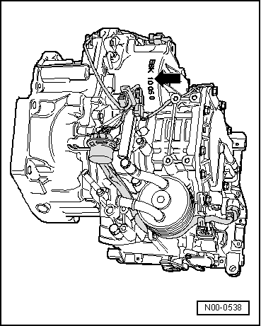 SEAT Workshop Manuals > Leon Mk1 > Automatic gearbox 001