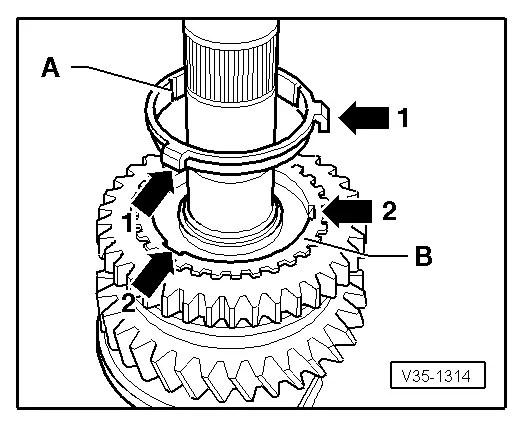 SEAT Workshop Manuals > Leon Mk1 > 6-speed manual gearbox