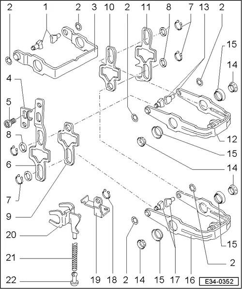 SEAT Workshop Manuals > Leon Mk1 > 02R, 5-speed > Gearbox