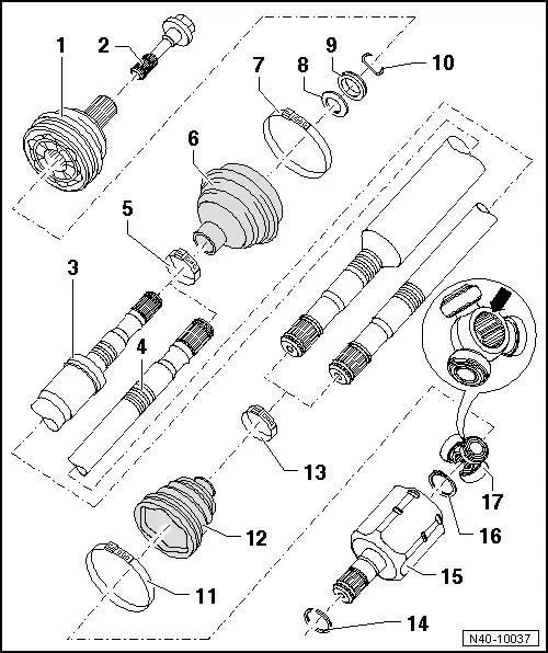 SEAT Workshop Manuals > Leon Mk1 > Running gear > Running