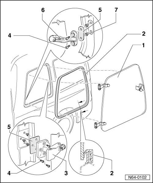 SEAT Workshop Manuals > Leon Mk1 > Body > General external