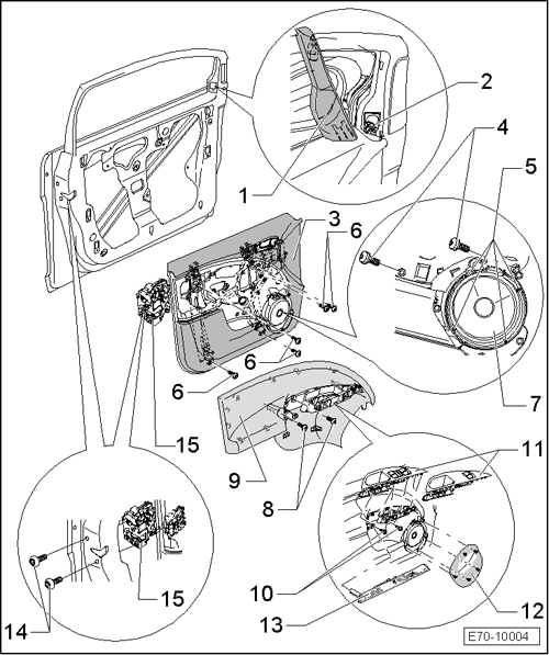 SEAT Workshop Manuals > Leon Mk1 > Body > Bodywork