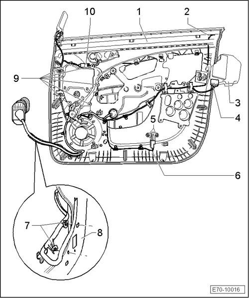 SEAT Workshop Manuals > Leon Mk1 > Body > Bodywork