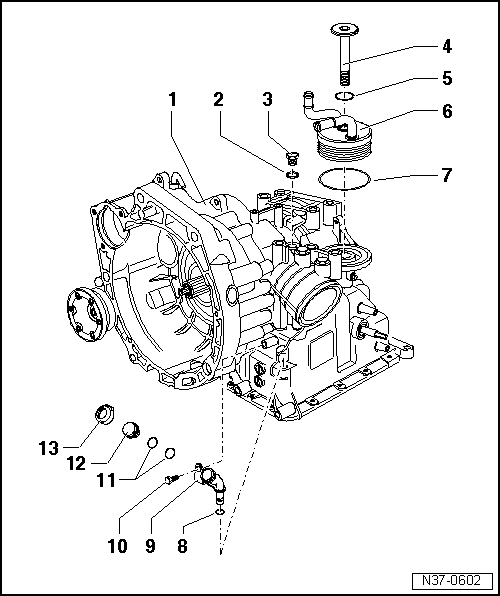 SEAT Workshop Manuals > Leon Mk2 > 001 Automatic gearbox