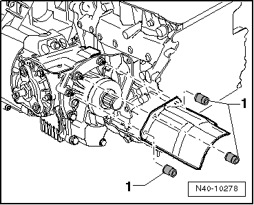 SEAT Workshop Manuals > Leon Mk2 > 6-speed manual gearbox