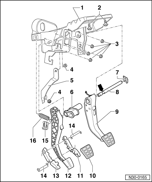 SEAT Workshop Manuals > Leon Mk2 > Manual gearbox 020 5